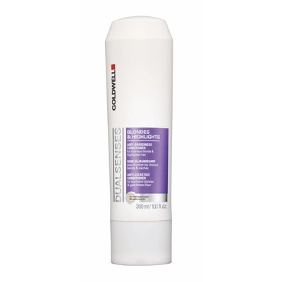 Goldwell Dualsenses Blondes & Highlight Anti-Brassiness Conditioner