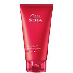 Wella Soins, Brilliance 200 ml de revitalisant pour les cheveux ingérable.