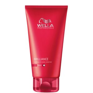 Wella Conditioner Brilliance pour cheveux rebelles. 200 ml