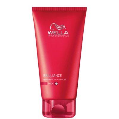 Wella Brilliance Conditioner für widerspenstiges Haar. 200 ml