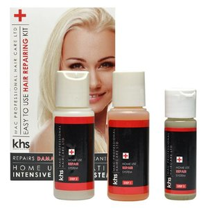 KHS Keratin Home System Kit de reparo do cabelo Sistema