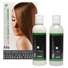 KHS Keratin Home System Sal grátis Shampoo e condicionador 2 x Kit 200ml