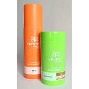 Viviere Cheveux poudre + Free Stimuler pulvérisation.