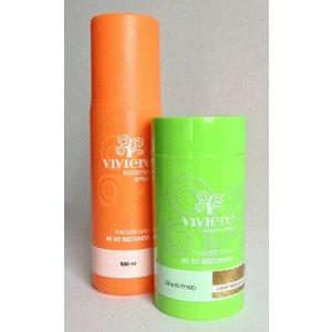Viviere Polvere di capelli + Free Aumentare Spray.