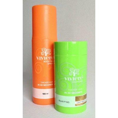 Viviere Polvo del pelo + Free Impulsar Spray.