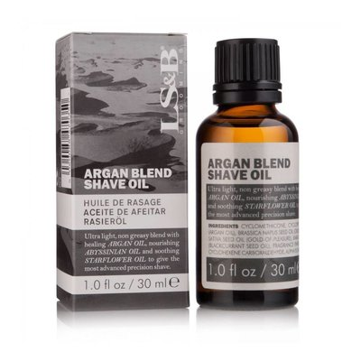 LS&B Men Only Argan Blend Shave Oil
