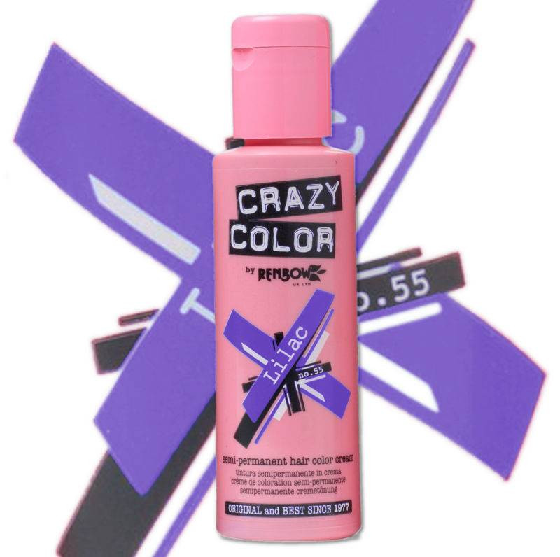 Crazy Colours Lilac Crazy Color Lilac 100ml Hair