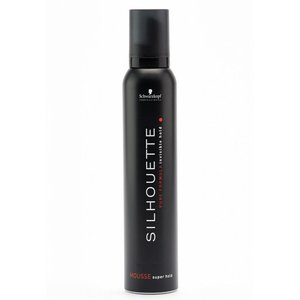 Schwarzkopf Silhouette Super Hold Mousse, 200 ml
