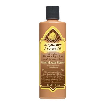 BaByliss Pro Argan Oil Moisture Repair Shampoo, 250ml