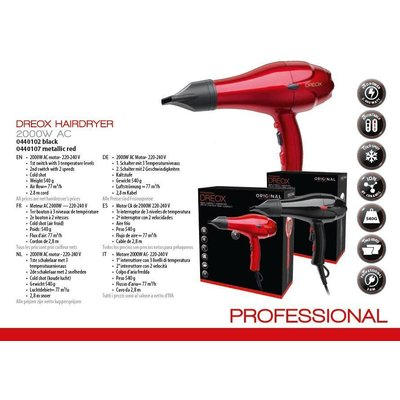 Dreox Professional Secador de pelo