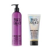 Tigi Bed Head Dumb Blonde Retail Set (1x shampoo + reconstructor)