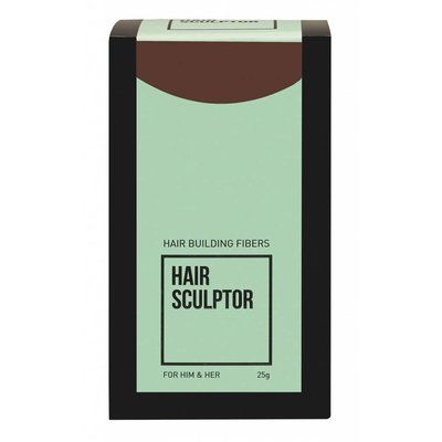 Hair Sculptor Fibras Hair Building Medium Brown
