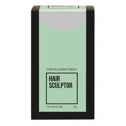 Hair Sculptor Fibre della costruzione dei capelli grigi