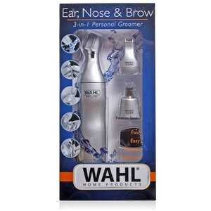 Wahl Nose Trimmer Wet Y TripleHead seco