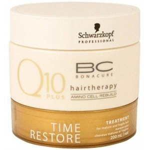 Schwarzkopf Q 10 plus BC Bonacure hairtherapy time restore treatment 200 ml