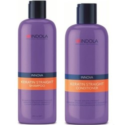 Indola Innova Keratin Straight Duo Pack