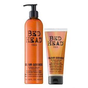 Tigi Bed Head Colour Diosa Petróleo infundido Duo Pack