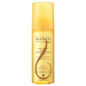Alterna Bamboo Smooth Curls Anti Frizz Curl Re-Activating Spray