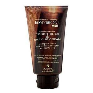 Alterna Los hombres de bambú y Acondicionador Nutriente Crema de afeitar