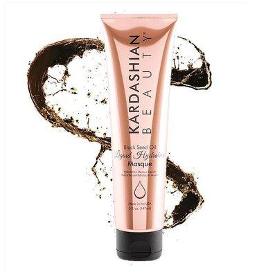 Kardashian Beauty Aceite de semilla de negro líquido de hidratación Mascarilla