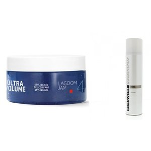 Goldwell Lagoom Jam + Gold Spray