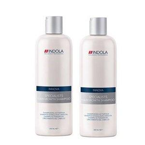 Indola Innova Specialists Hairgrowth Shampoo Duopack