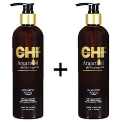 CHI Huile d'Argan Shampoo Duopack