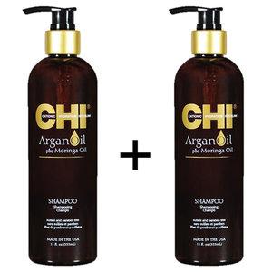 CHI Olio di Argan Shampoo Duopack