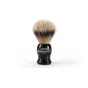 Barburys Shaving Brush Silver