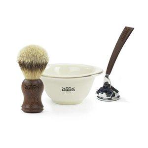 Barburys El afeitado Negro Wenge