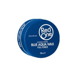 Red One Blue Aqua Hair Wax