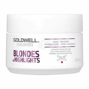 Goldwell Dual Senses rubias y Destacados 60 Sec. tratamiento