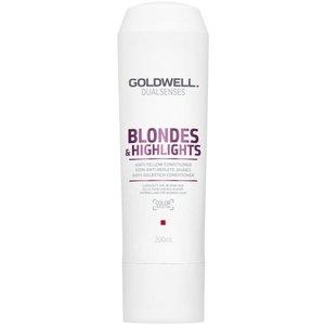 Goldwell Acondicionador Dual Senses rubias y principales aspectos anti-amarillo