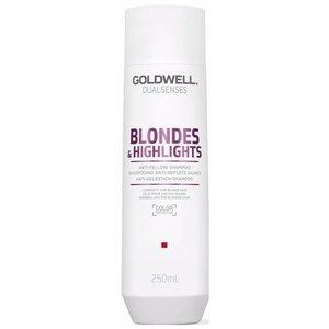 Goldwell Double Senses Blondes & Highlights Anti-Jaune Shampoo