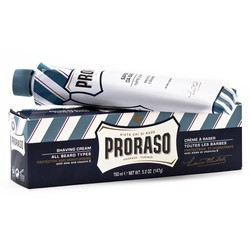 Proraso Blue Shaving Soap In A Tube
