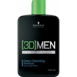 Schwarzkopf [3D] Men Deep Clean Shampoo