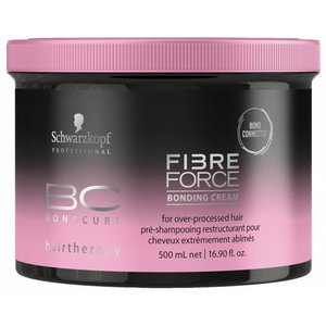 Schwarzkopf 500ml Crema Vinculación Bonacure Fuerza de fibra