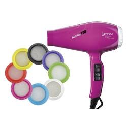 BaByliss Pro BAB6350IFE Luminoso Rosa iónico Secador de pelo