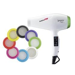 BaByliss Pro Luminoso Bianco iónico Secador de pelo BAB6350IE