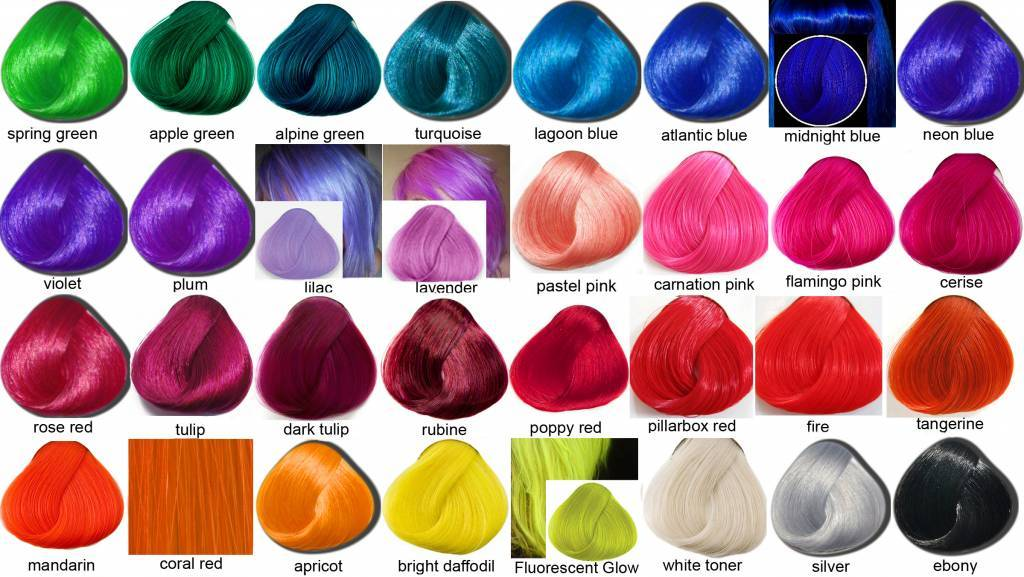 Hair Color Chart Photohairstyle Com