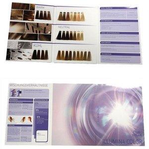 Wella Illumina Kleurkaart