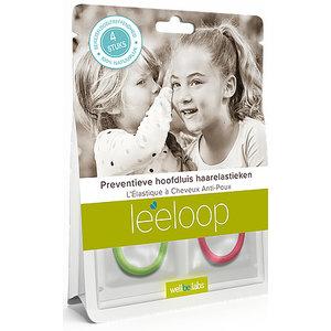 Leeloop Prévention des poux de tête cheveux Elastique