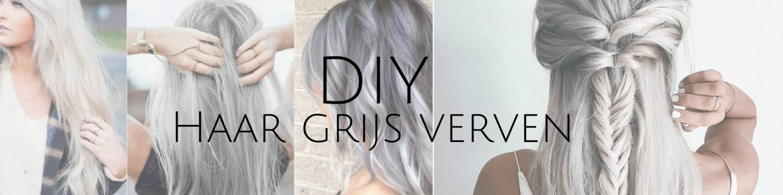 DIY: Je haar grijs verven is dé trend van het moment