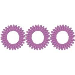 Spiradelic elastici per capelli viola
