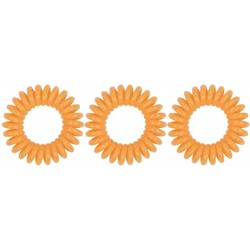 Spiradelic Haare Gummibänder orange
