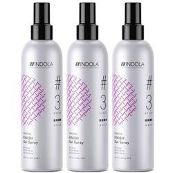Indola Innova Finish Gel Spray 3 stuks