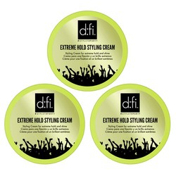 D:FI Extreme Hold Styling Cream 3 stuks