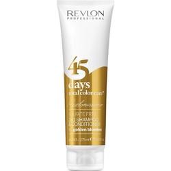 Revlon 45 días 2 en 1 champú y acondicionador Golden Blondes