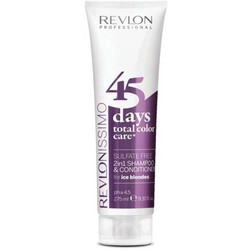 Revlon 45 Days 2 in 1 Shampoo & Conditioner Ice Blondes