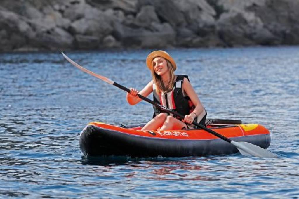 Kayak Kalyma Opblaasbare Kajak Persoons Een Familie Fun